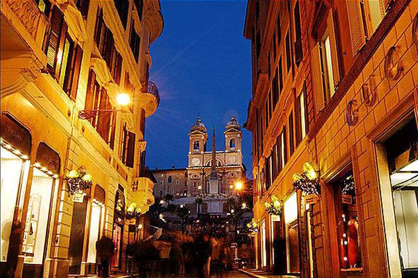 Via Condotti Rome | italycreative.it