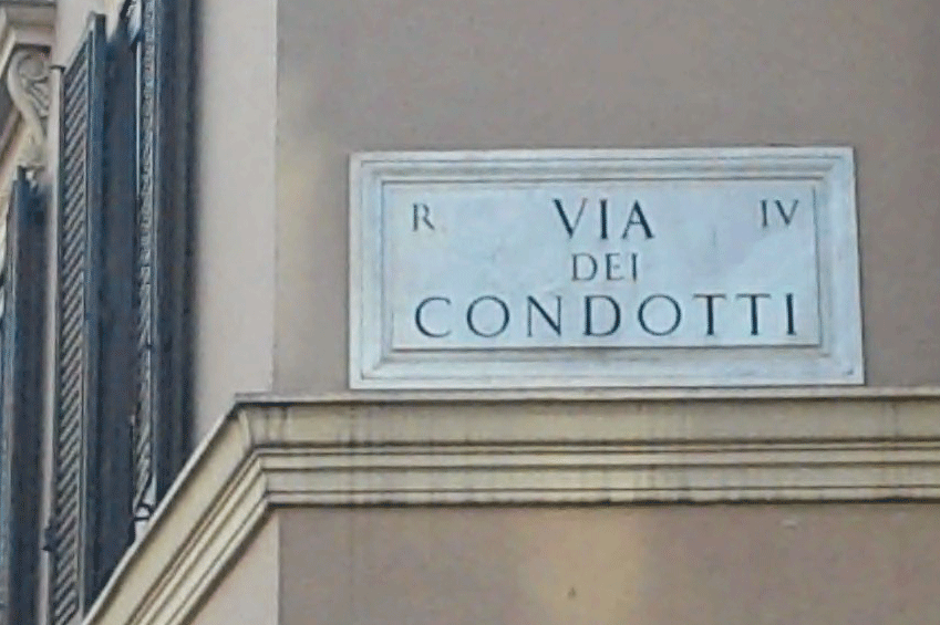 Via Condotti Rome | italycreative.it