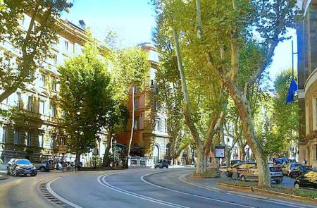 Via Veneto Rome | italycreative.it