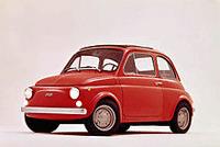 Italy Creative - Vintage Fiat 500