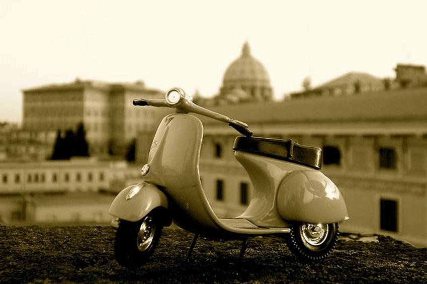 Vespa Vacanze romane | italycreative.it