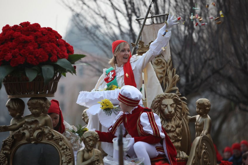 Historic carnival Ivrea | italycreative.it
