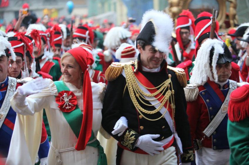 Historic carnival Ivrea | italycreative.it