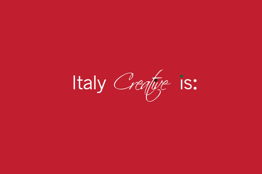 Italy Creative is | italycreative.it