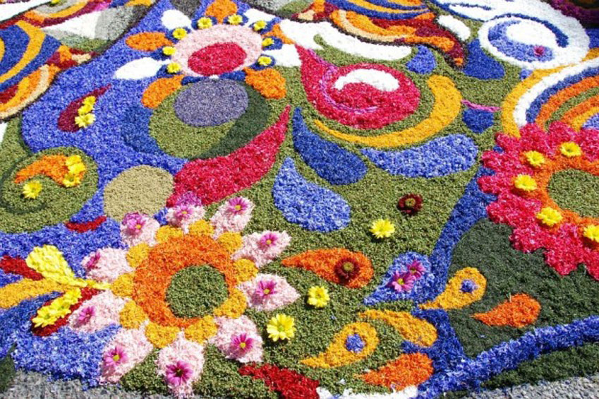 JUNE | Infiorata in Italy | italycreative.it