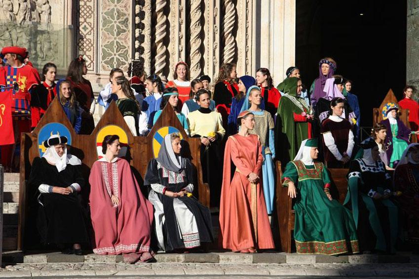 Orvieto Sfilata storica   italycreative.it
