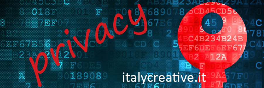 Privacy policy | italycreative.it