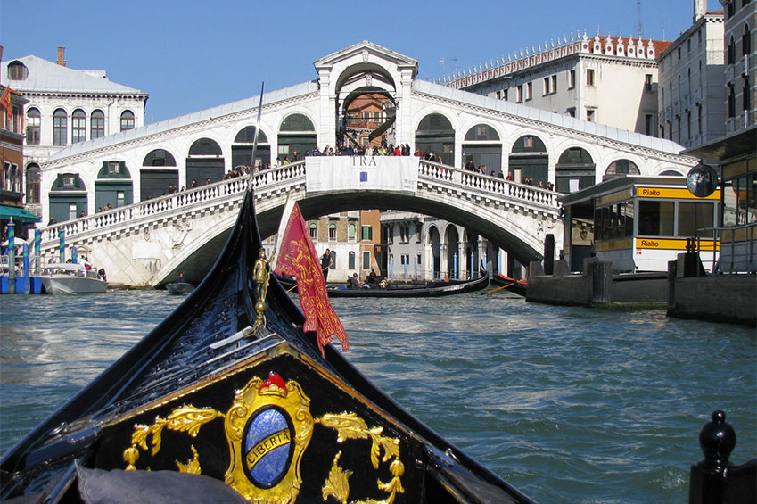 Gondola experience | italycreative.it