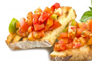 Bruschetta al pomodoro | italycreative.it
