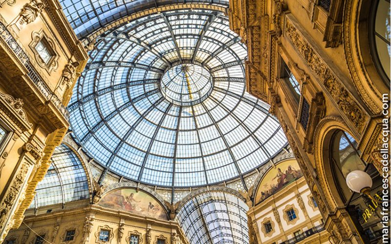 MAY | Vittorio Emanuele Gallery Milan in Italy | italycreative.it
