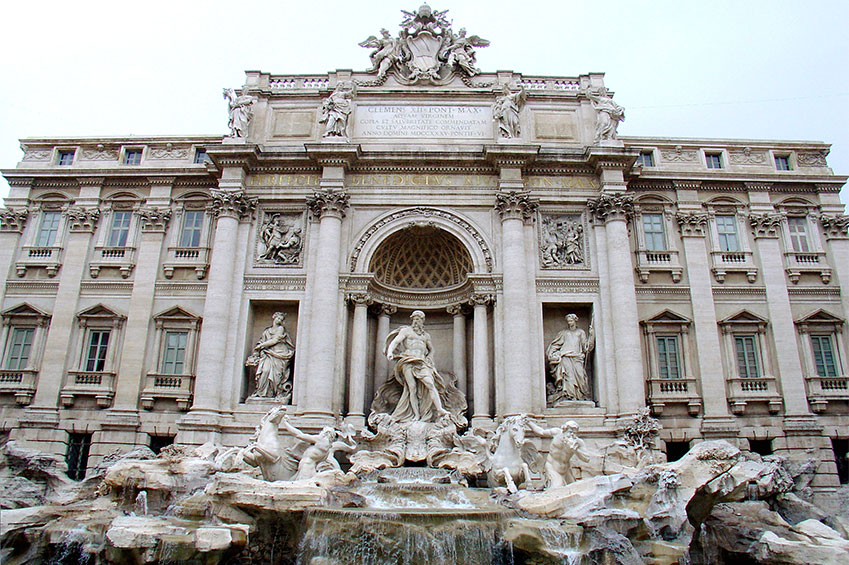 Rome Fontana di Trevi | italycreative.it