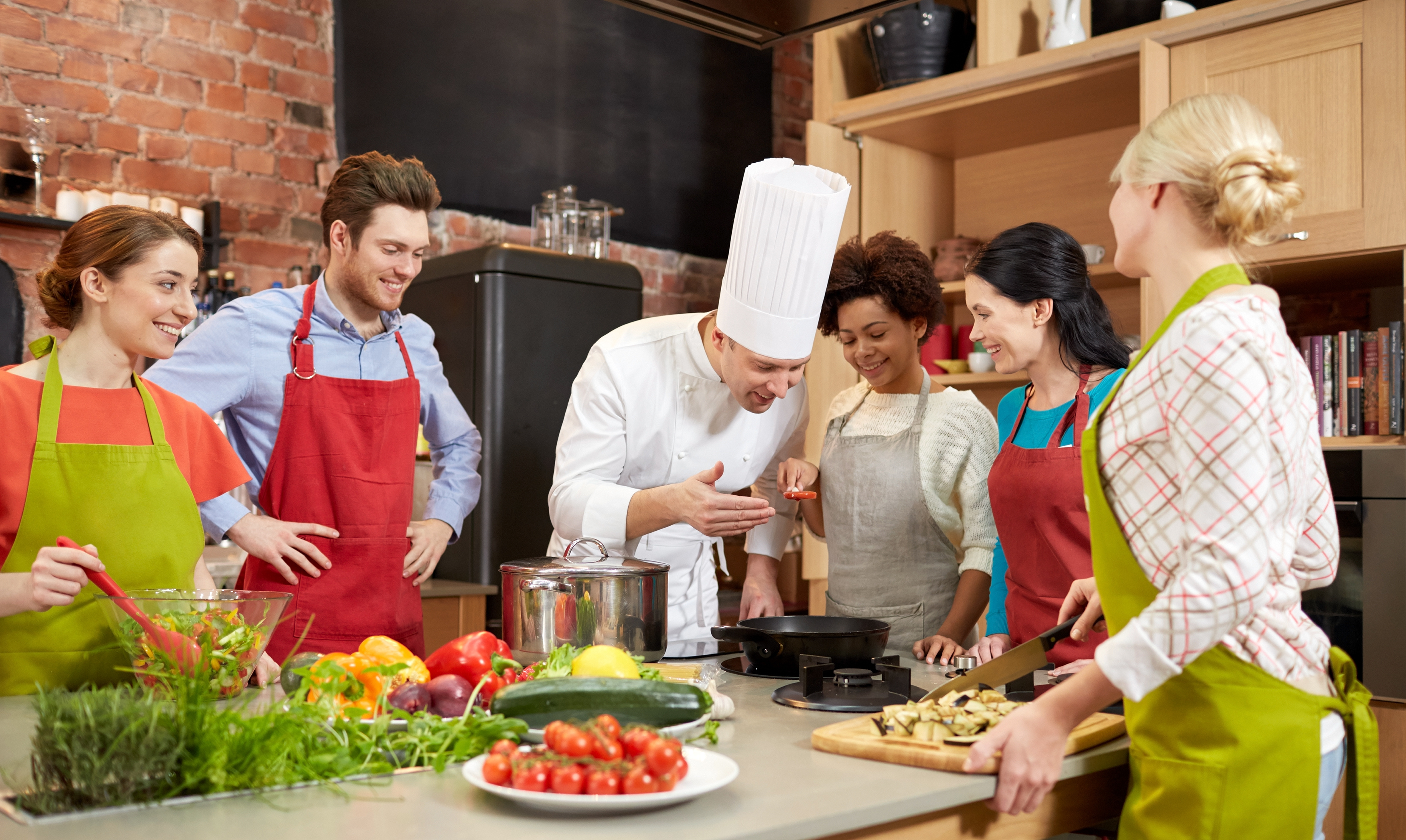 Enjoy your Italian Cooking class experience!