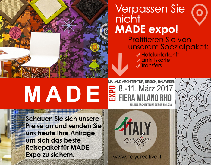 MADE Expo mit Italy Creative