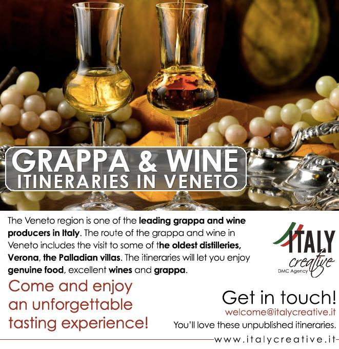 Italy Creative   Grappa & Wine itineraries in Veneto