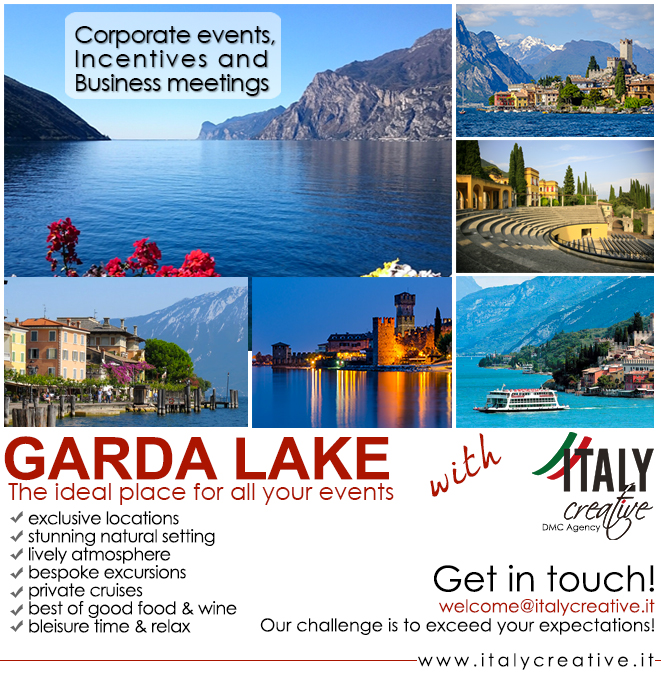 Italy Creative   Garda Lake for all your events