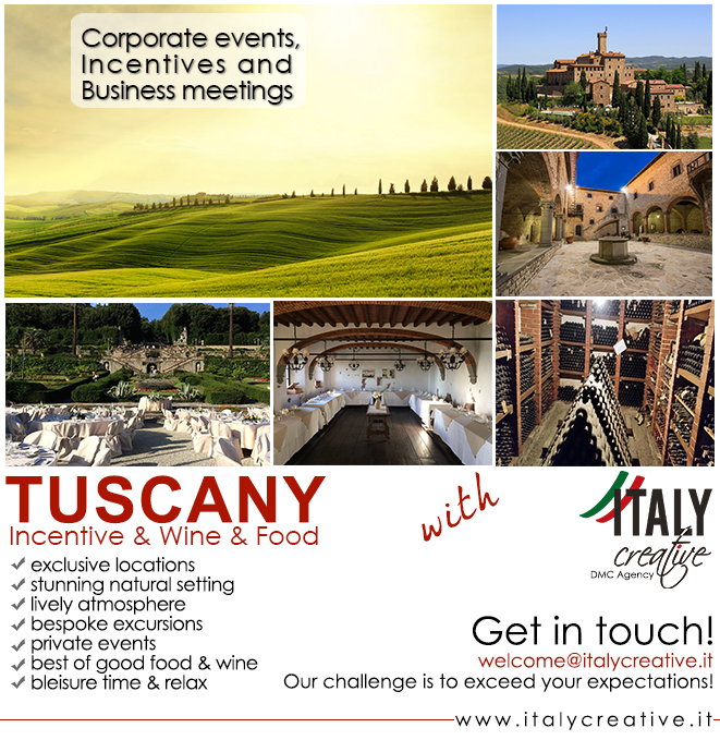 Italy Creative | Tuscany for all your events