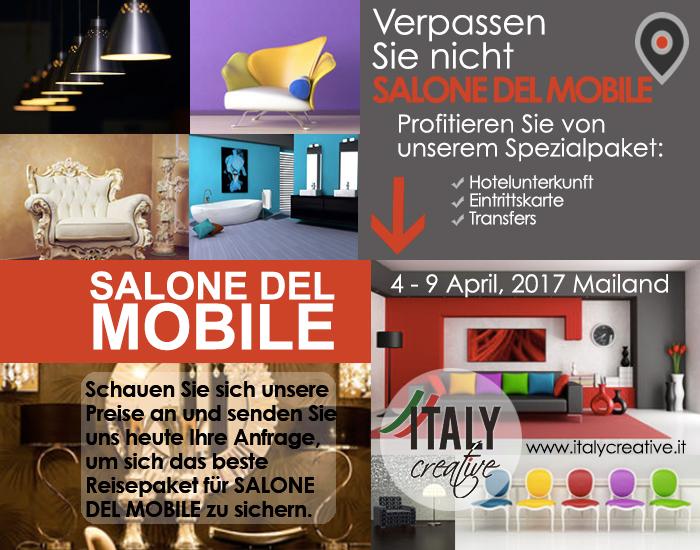 SALONE DEL MOBILE 2017 mit Italy Creative