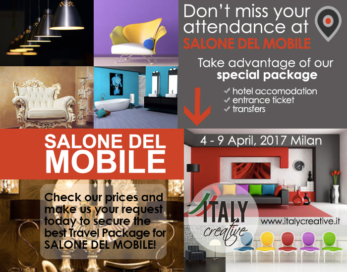 SALONE DEL MOBILE 2017 with Italy Creative