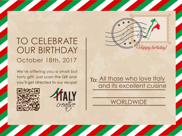 Italy Creative | Happy birthday 2017