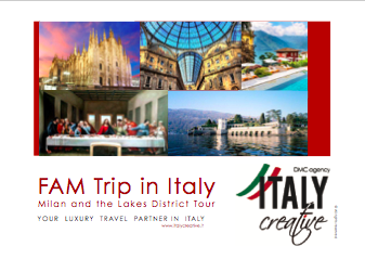 FAM trip by Italy Creative