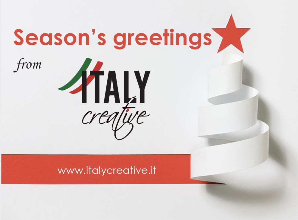 Italy Creative DMC wishes you all the best!