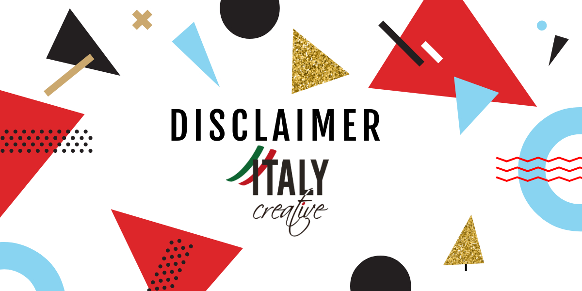 Disclaimer Italy Creative