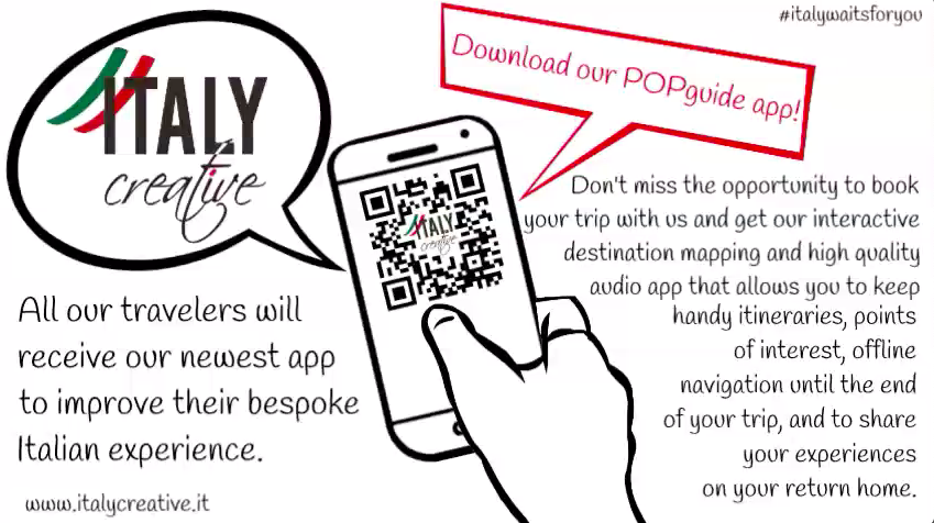 POP guide app - Italy Creative