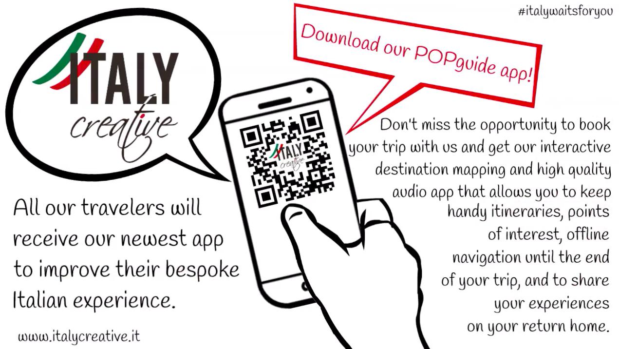 Italy Creative video: POPguide app!