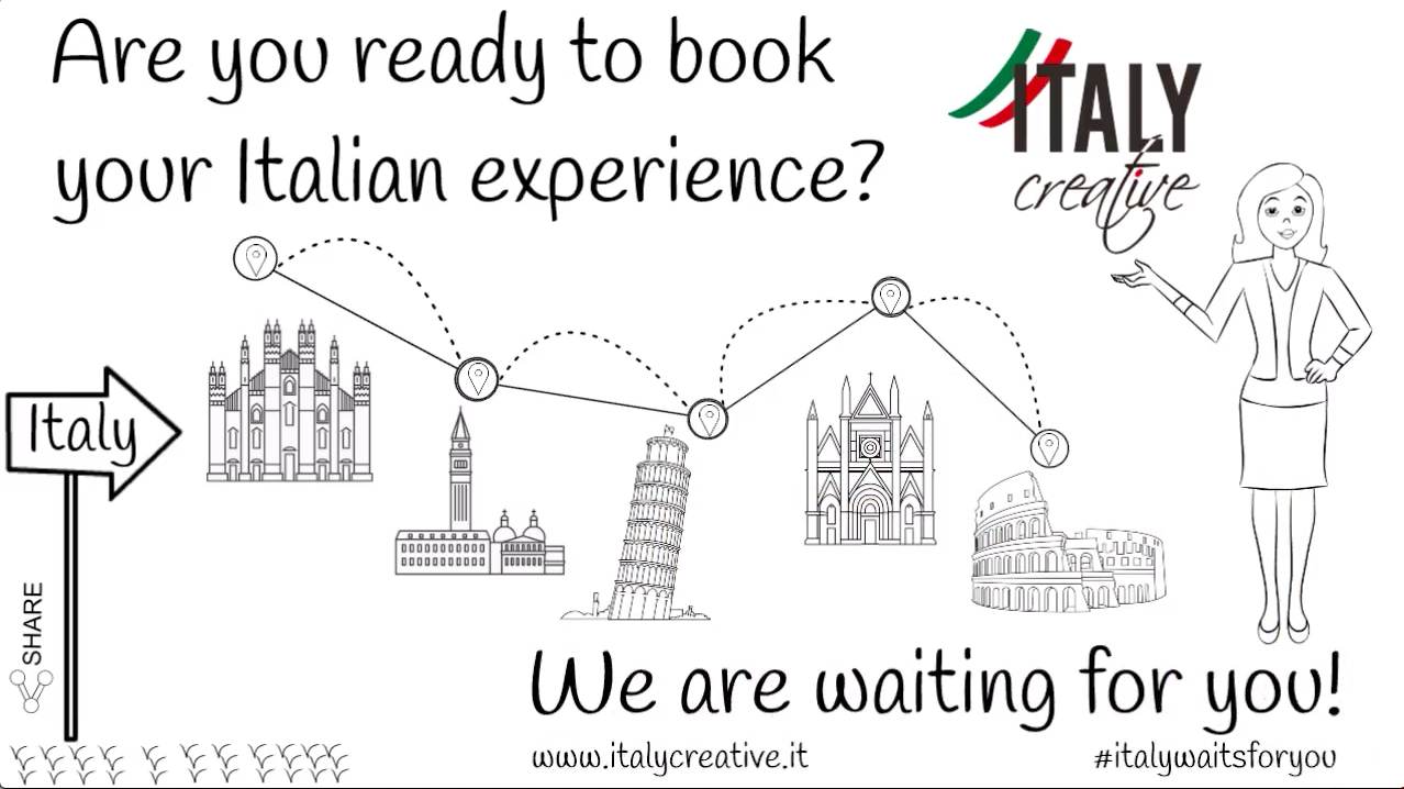 Italy Creative video: we are waiting for you!