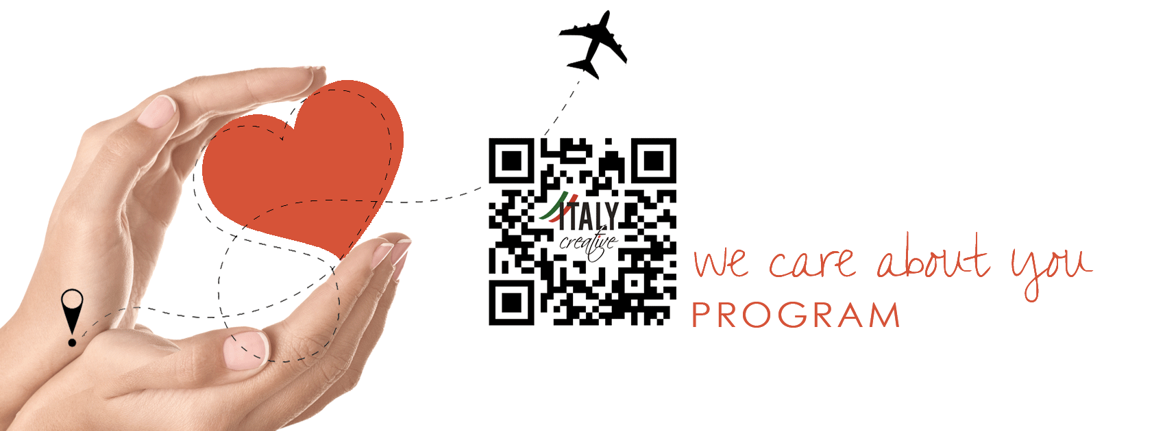 Italy Creative: we care about you program