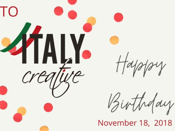 Italy Creative | Happy birthday 2018