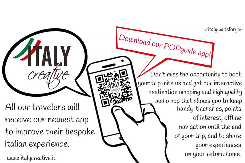 POPGuide app Italy Creative