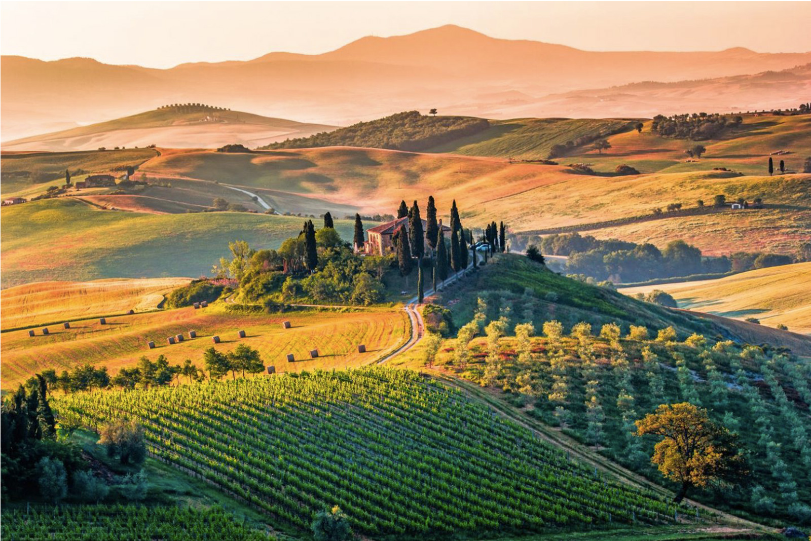 Lovely Italy Rome and Tuscany 10-day self-drive